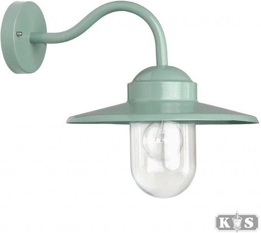 Außenwandlampe Dolce - Aluminium - Retro Grün - KS Verlichting ...
